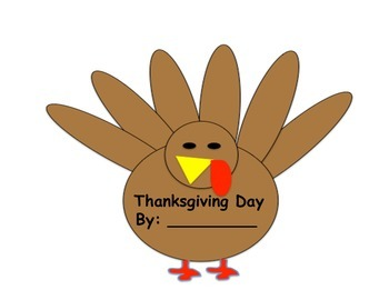 Thanksgiving Day Pocket Booklet