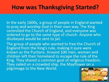 Thanksgiving Day Powerpoint