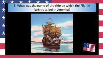 Thanksgiving Day Quiz - PowerPoint