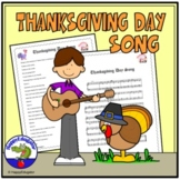Thanksgiving: A Thanksgiving Day Song