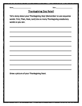 Thanksgiving Day Story