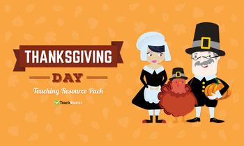 Thanksgiving Day Teaching Resource Pack