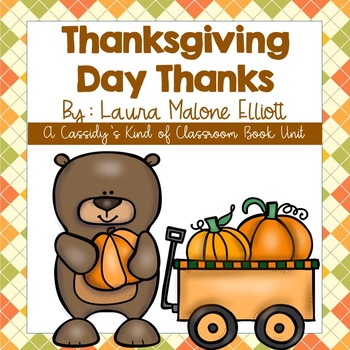 Thanksgiving Day Thanks Book Unit