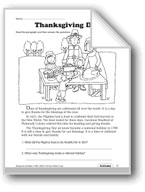 Thanksgiving Day and Voyage