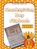 Thanksgiving Day flip book