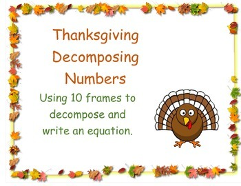Thanksgiving Decomposing Numbers
