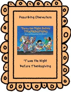 Thanksgiving-Describing Characters