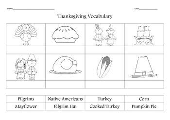 Thanksgiving - Dia de Accion de Gracias (English and Spanish)