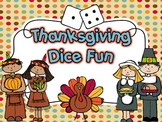 Thanksgiving Dice Fun