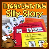 Thanksgiving Differentiated Writing Activity | Special Ed