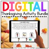 Thanksgiving Digital Activity Bundle [10 digital activitie
