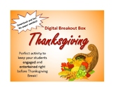 Thanksgiving Digital Breakout Box/ Escape Room