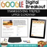 Thanksgiving Digital Breakout - Escape the Mayflower