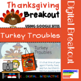 Thanksgiving Digital Breakout: Turkey Troubles
