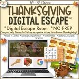 Thanksgiving Digital Escape, Digital Escape Room