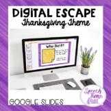 Thanksgiving Digital Escape (Google Sides)
