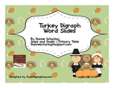 Thanksgiving Turkey Digraph Word Slides