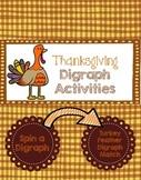 Digraphs Thanksgiving Theme!