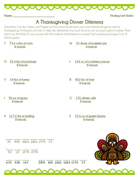 Thanksgiving Dilemma - Find... by From My Back Pocket | Teachers ...