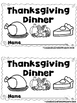 Thanksgiving Dinner  (A Sight Word Emergent Reader and Teacher Lap Book)