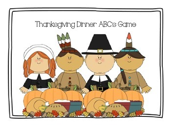 Thanksgiving Dinner ABC's Game