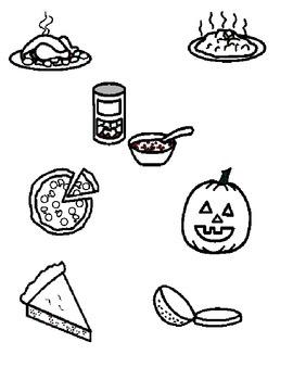 Thanksgiving Dinner Activity Board