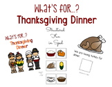 Thanksgiving Adapted Book for Preschool, Pre-K and Special Needs