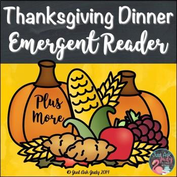 An Emergent Reader Plus More Thanksgiving Dinner