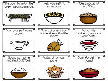 Thanksgiving Dinner - An Open Target Activity