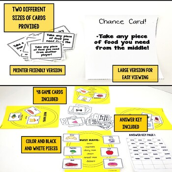 Thanksgiving Addition and Subtraction Facts Game