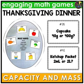 Thanksgiving Capacity and Mass Game