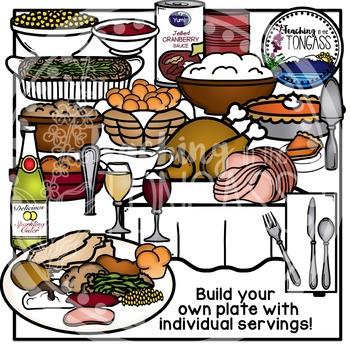 Thanksgiving Dinner Clipart (Thanksgiving Clipart)