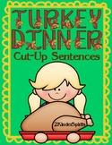 Turkey Dinner Cut-Up Sentences