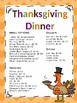 Thanksgiving Dinner! Decimal Operations Activity