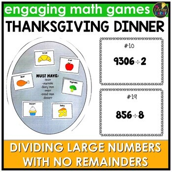 Dividing Large Numbers with No Remainders Game