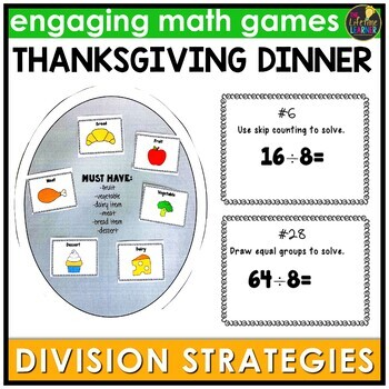 Thanksgiving Division Strategies Game