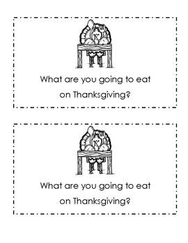 Thanksgiving Dinner Early Reader
