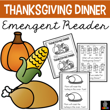 Thanksgiving Dinner Emergent Reader