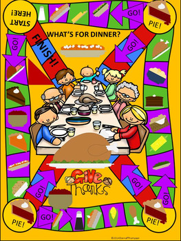 "Task Card Game ""Multiplication and Division"" (Thanksgiving Dinner)"