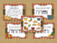 Thanksgiving Dinner! Interactive Rhythm Game - 6 ITEM BUNDLE!