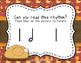 Thanksgiving Dinner! Interactive Rhythm Game to Practice Ta-a (Half Note)