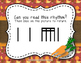 Thanksgiving Dinner! Interactive Rhythm Game to Practice Tika-tika (16th notes)