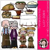 Thanksgiving Dinner clip art - Lucy Doris - by Melonheadz