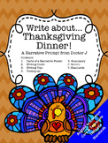 Thanksgiving Dinner Narrative Writing Prompt Common Core TNReady Aligned