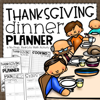 Thanksgiving Math Activity {A Project Based Learning Activity}