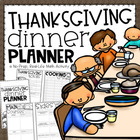 Thanksgiving Dinner Planner {A Project Based Learning Activity}
