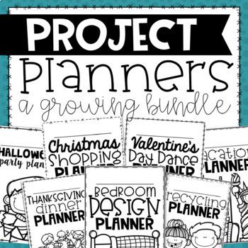 Project Based Learning Planners BUNDLE