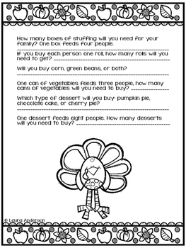 Thanksgiving Dinner Planning