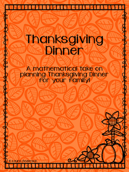 Thanksgiving Dinner Planning