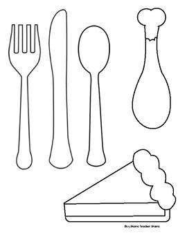 Thanksgiving Dinner Plate Glyph